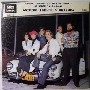 ANTONIO ADOLFO E A BRAZUCA - O Baile Do Clube - 7inch (SP)