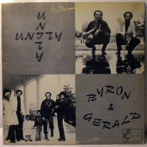 BYRON MORRIS GERALD WISE - Unity - LP