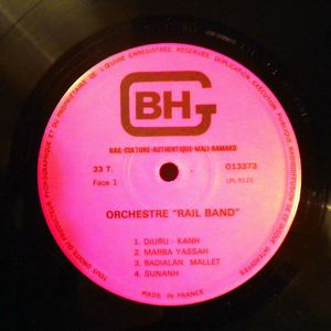 ORCHESTRE RAIL BAND - Folk Rail Serie 1 - LP