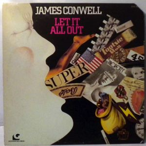 JAMES CONWELL - Let It All Out - 33T