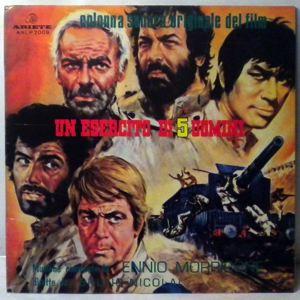 ENNIO MORRICONE - Un Esercito Di 5 Uomini - LP
