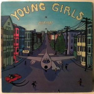 THE FILLMOTIONS - Young Girls In Motion - LP