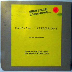 JOHN CASE - Creative Explosions - LP