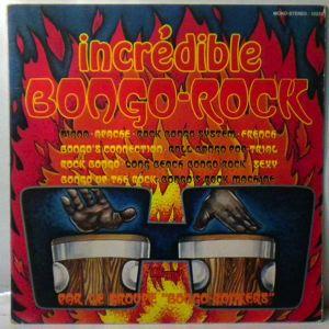 BONGO ROCKERS - Incredible Bongo-Rock - LP