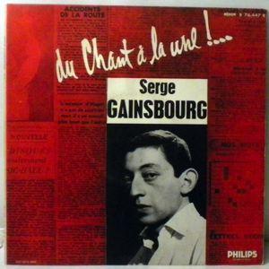SERGE GAINSBOURG - Du Chant A La Une! - 10 inch