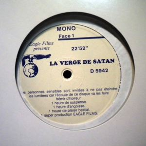 UNKNOWN - La Verge De Satan - 33T