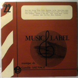 CAMILLE SAUVAGE - Music Label - 33T