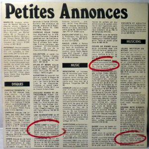 PETITES ANNONCES - Same - 33T