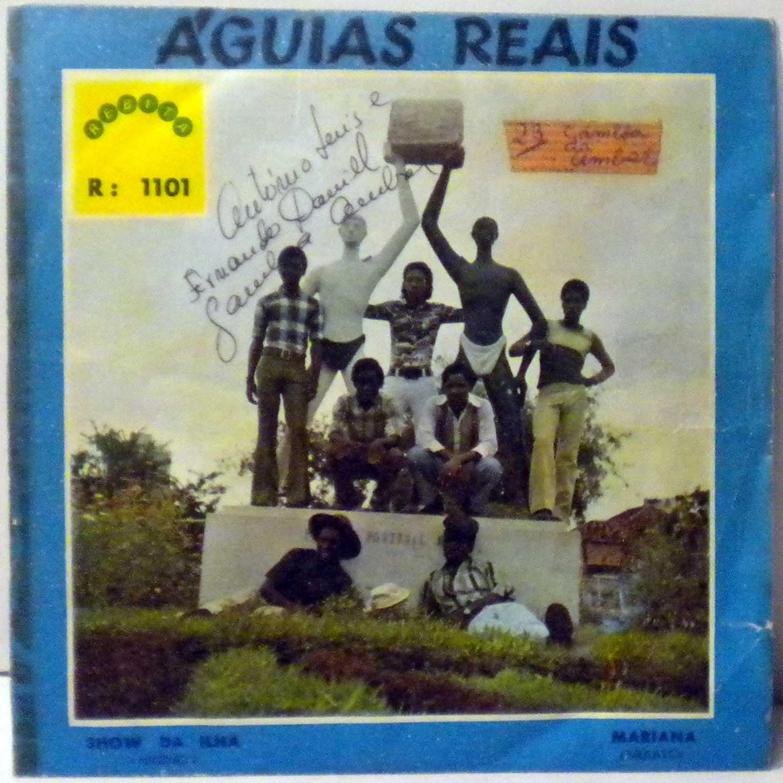 AGUIAS REAIS - Show da ilha / Mariana - 7inch (SP)