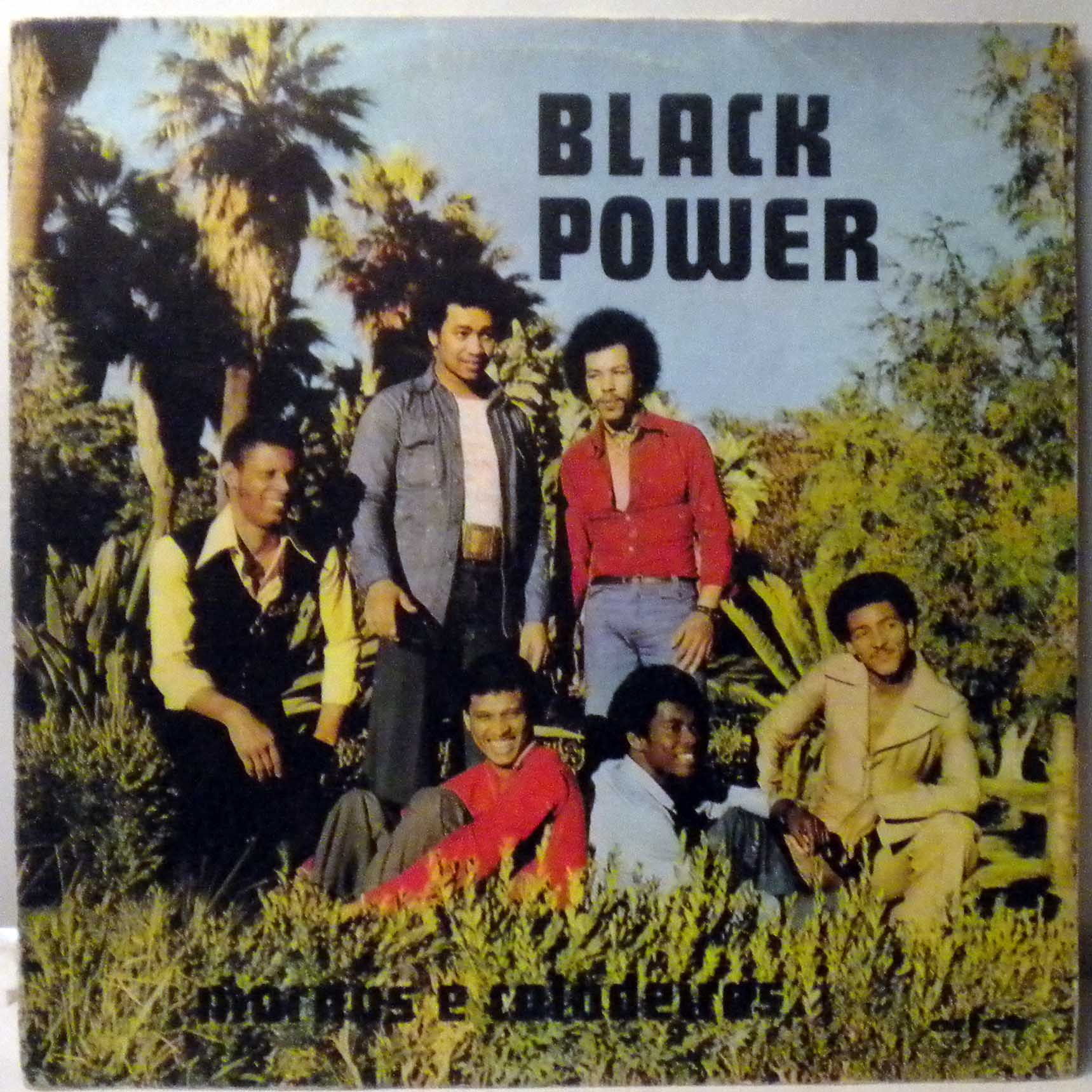 BLACK POWER - Mornas e coladeiras - LP