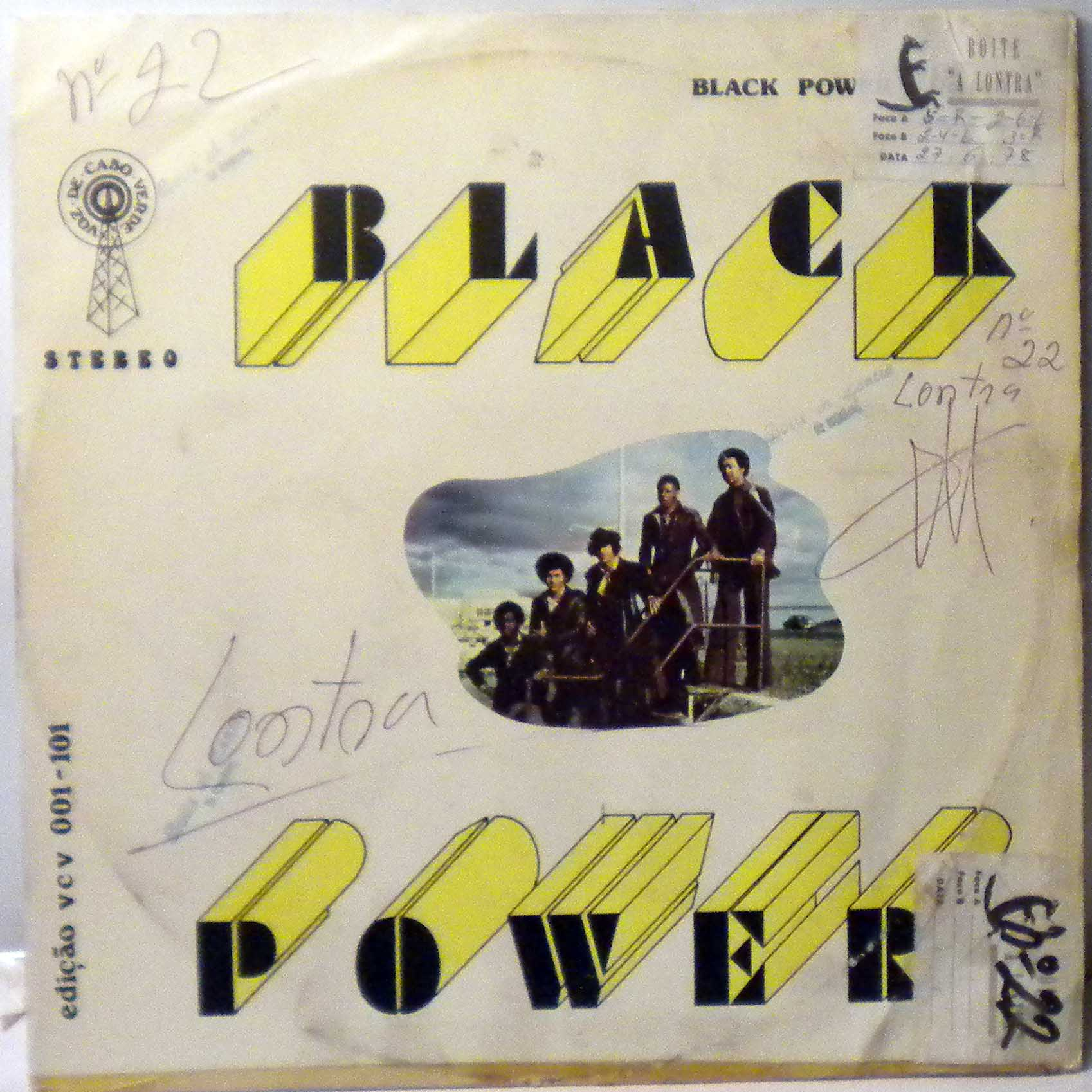BLACK POWER - Same - 33T