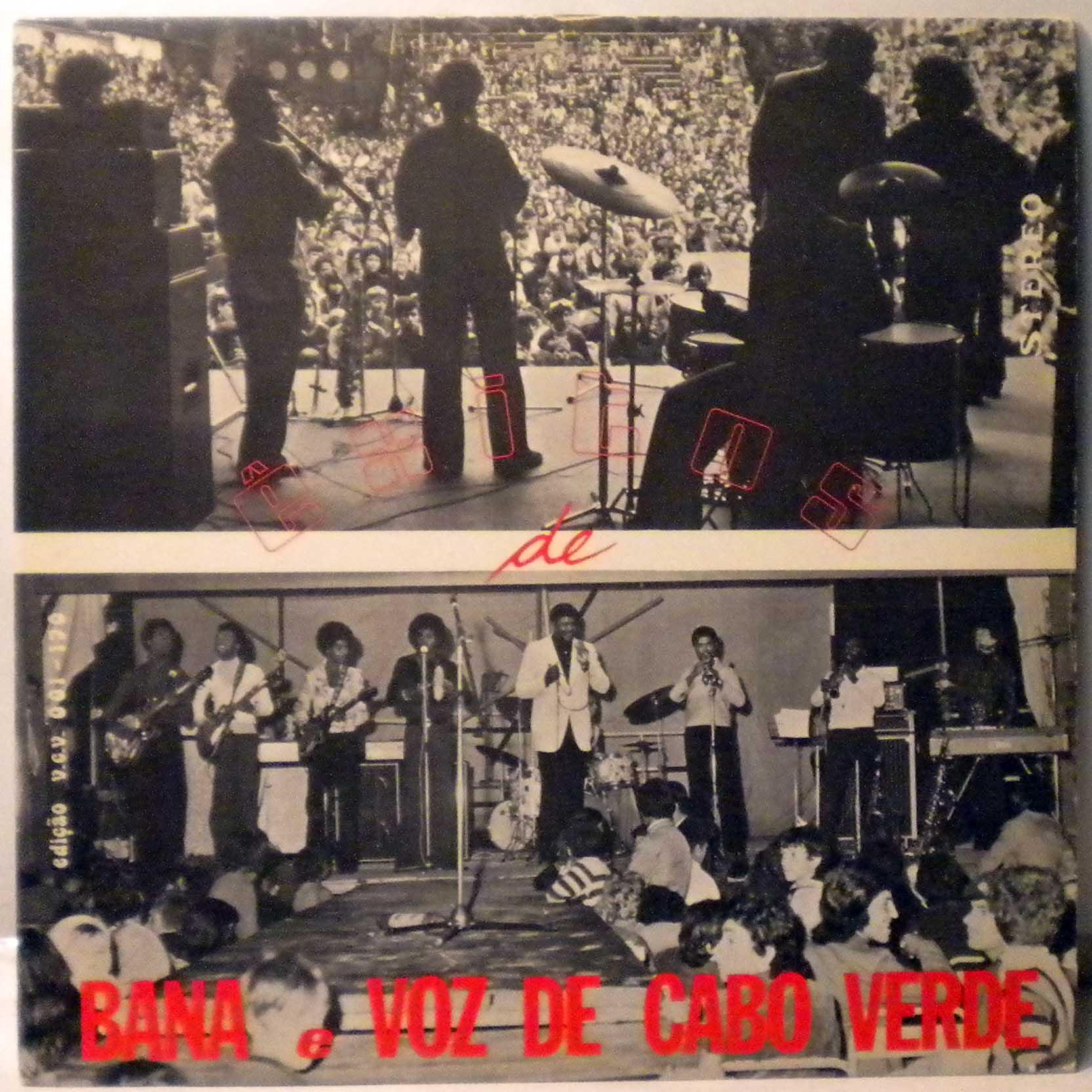 BANA E VOZ DE CABO VERDE - Exitos de - LP
