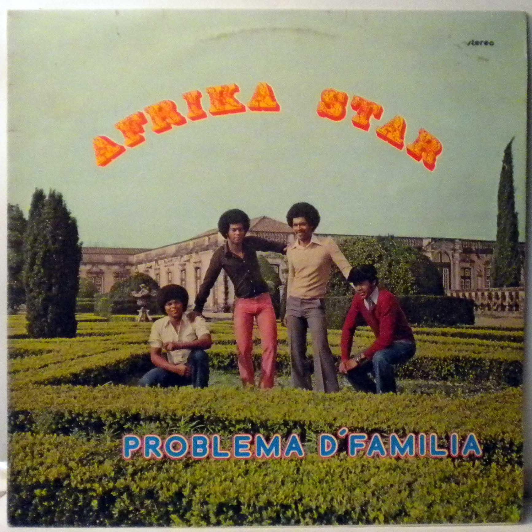 AFRIKA STAR - Problema d'familia - LP
