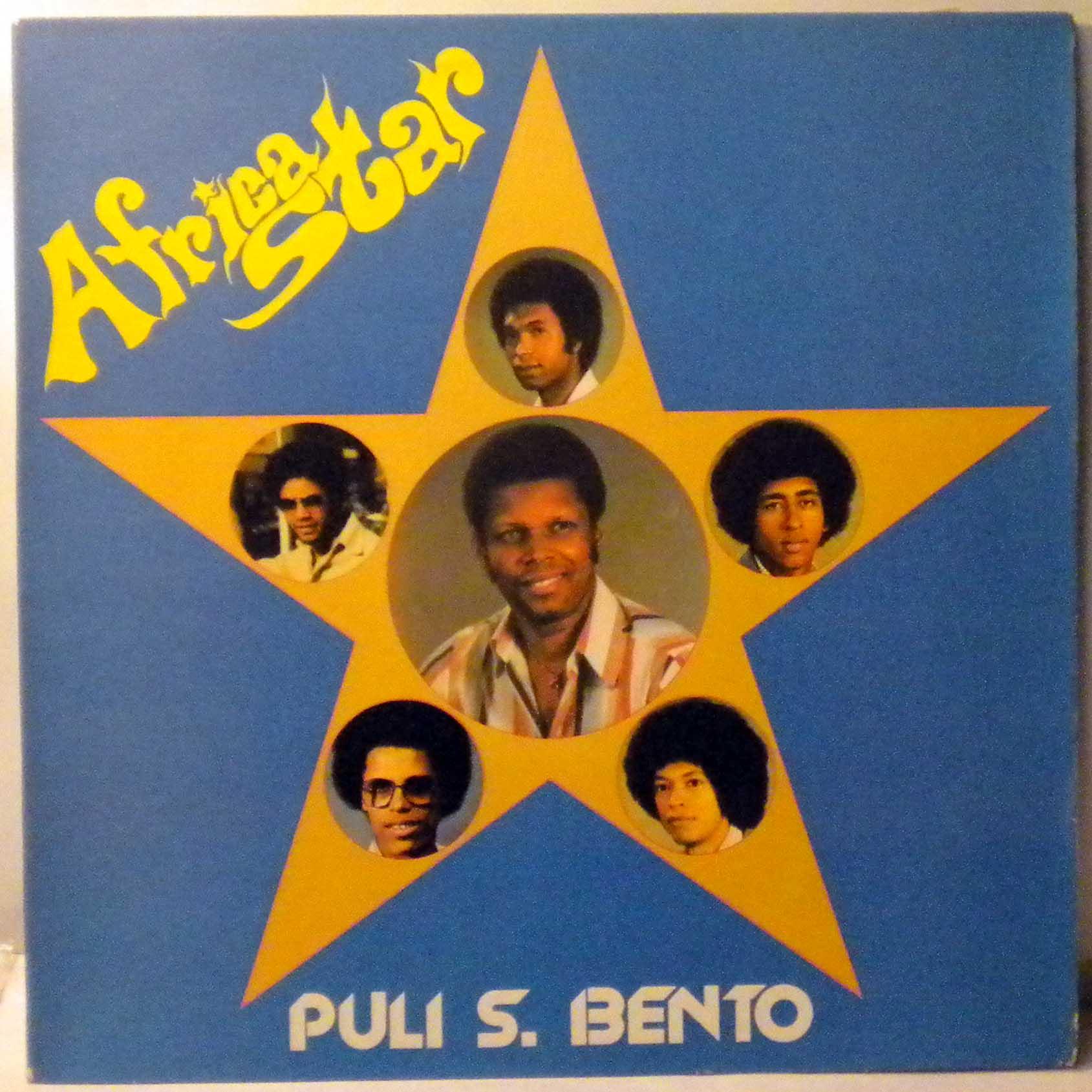 AFRICA STAR - Puli S. Bento - LP