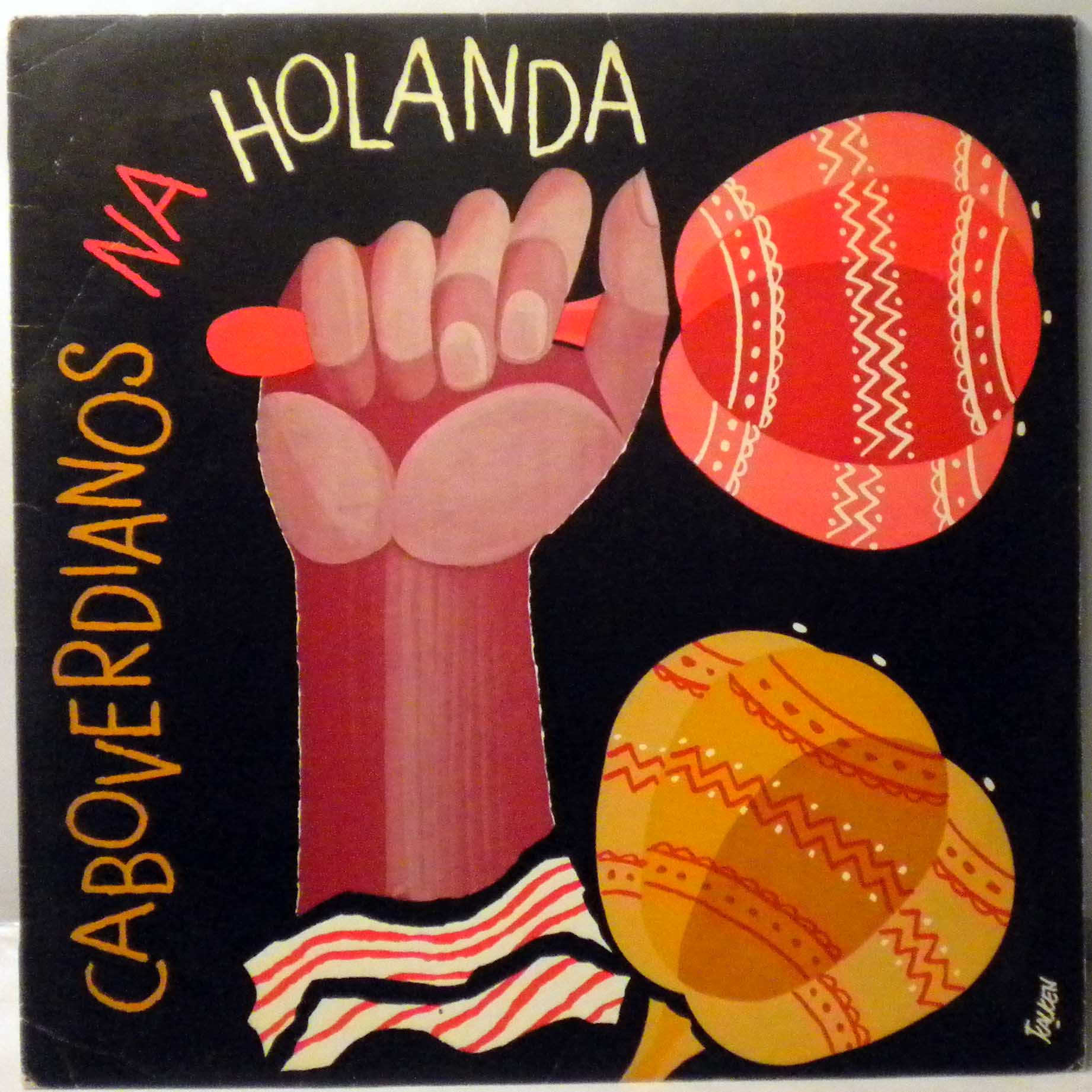 VARIOUS - Caboverdianos na Holanda - LP
