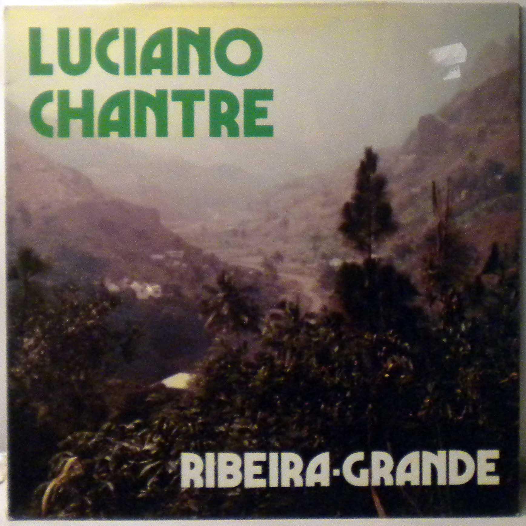 LUCIANO CHANTRE - Ribeira grande - LP