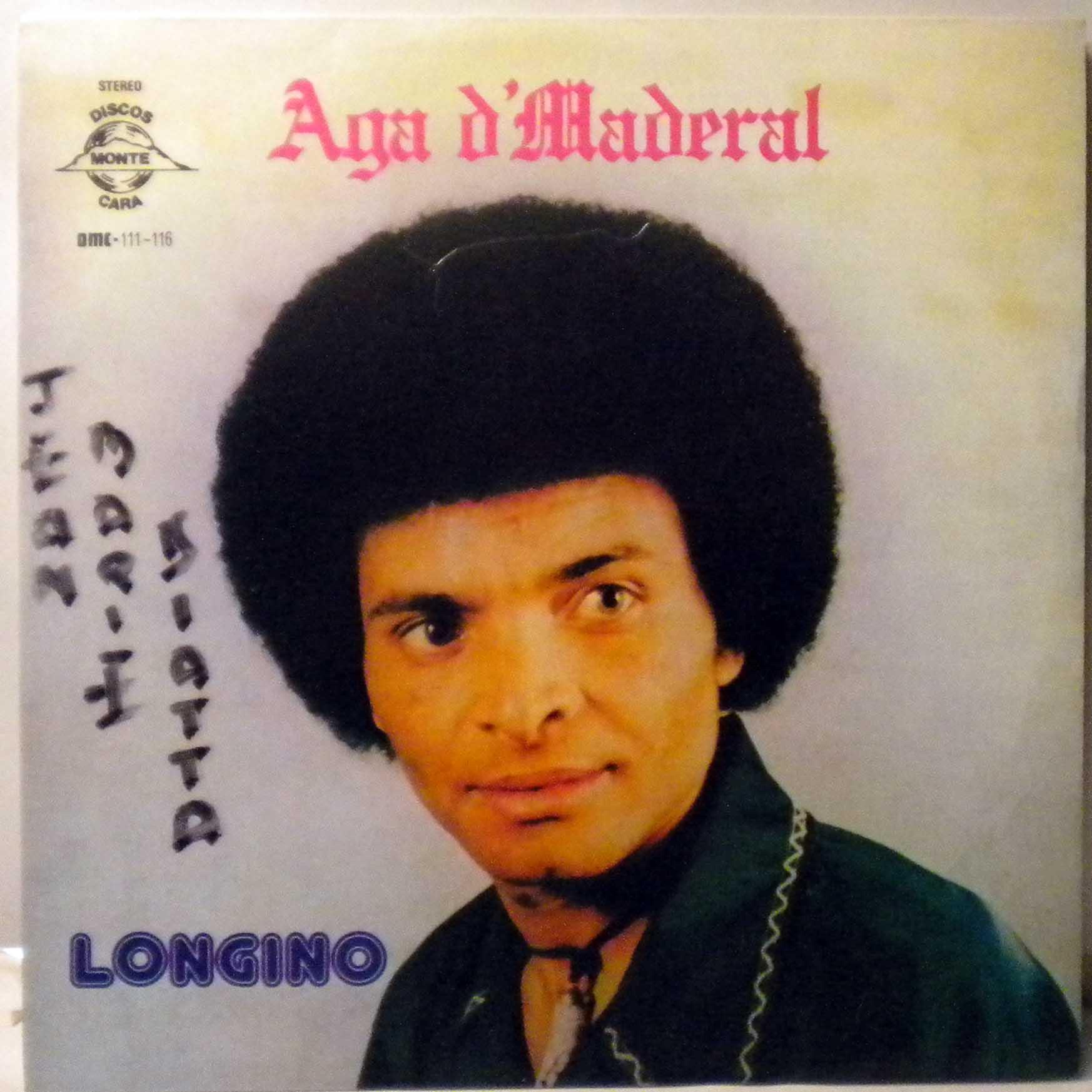 LONGINO - Aga d'Maderal - LP