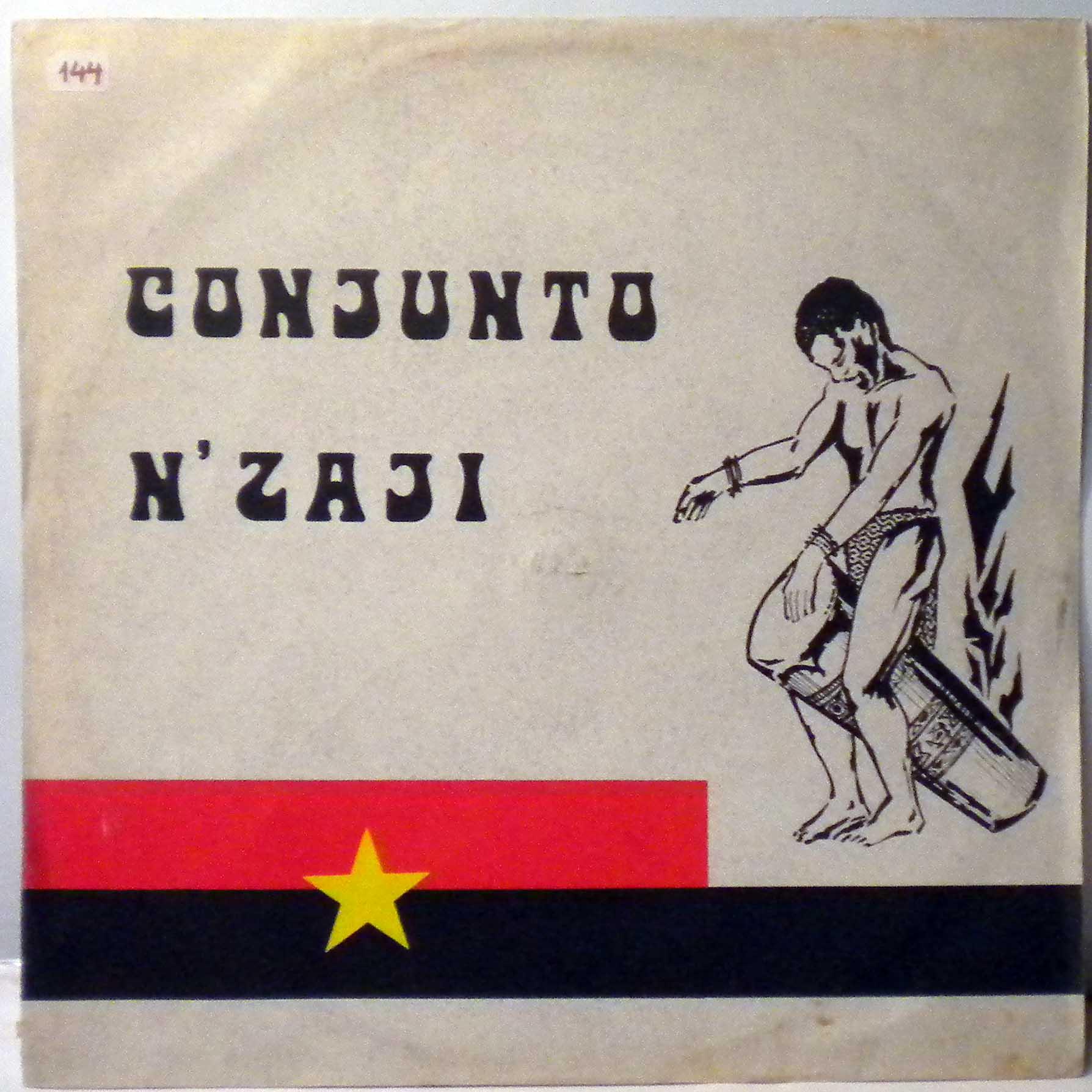 CONJUNTO N'ZAJI - Musica popular Angolana - LP