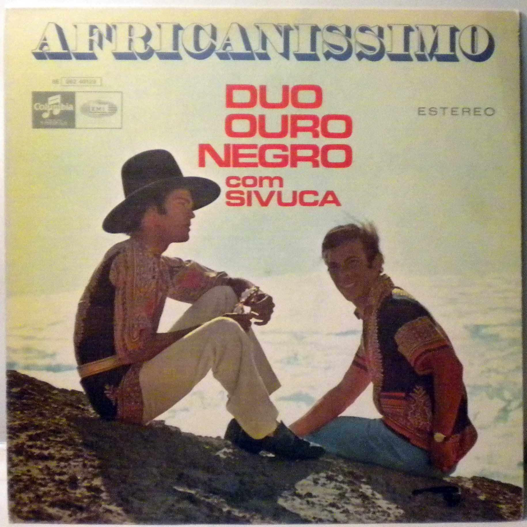 DUO OURO NEGRO - Africanissimo - 33T