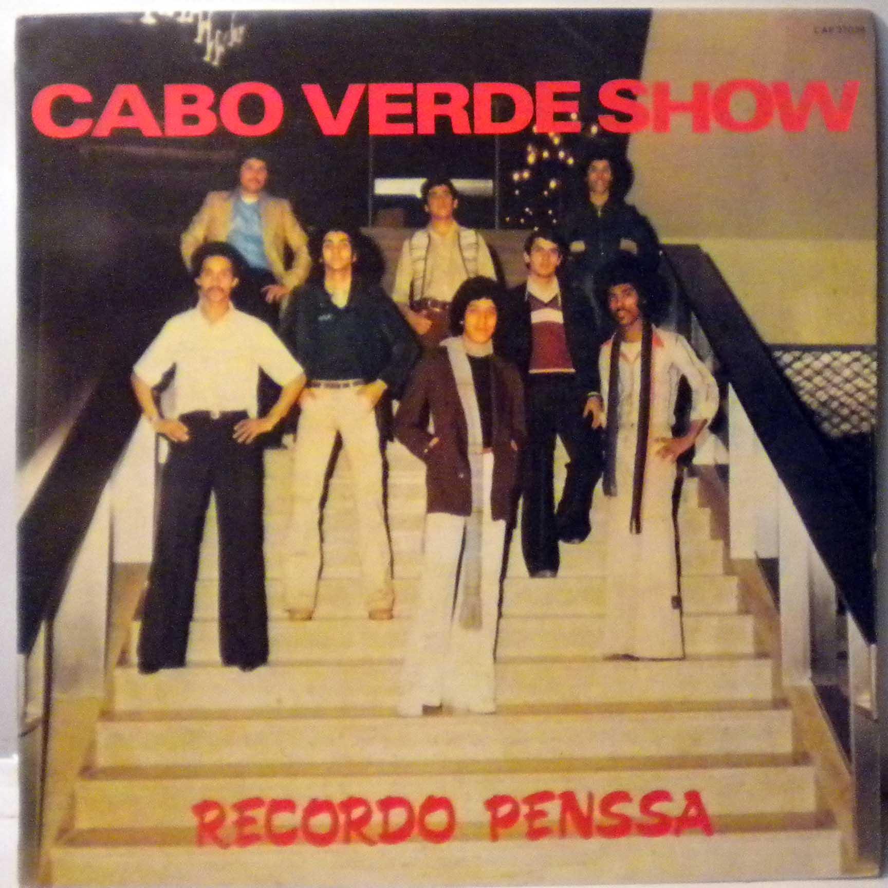 CABO VERDE SHOW - Recordo penssa - LP