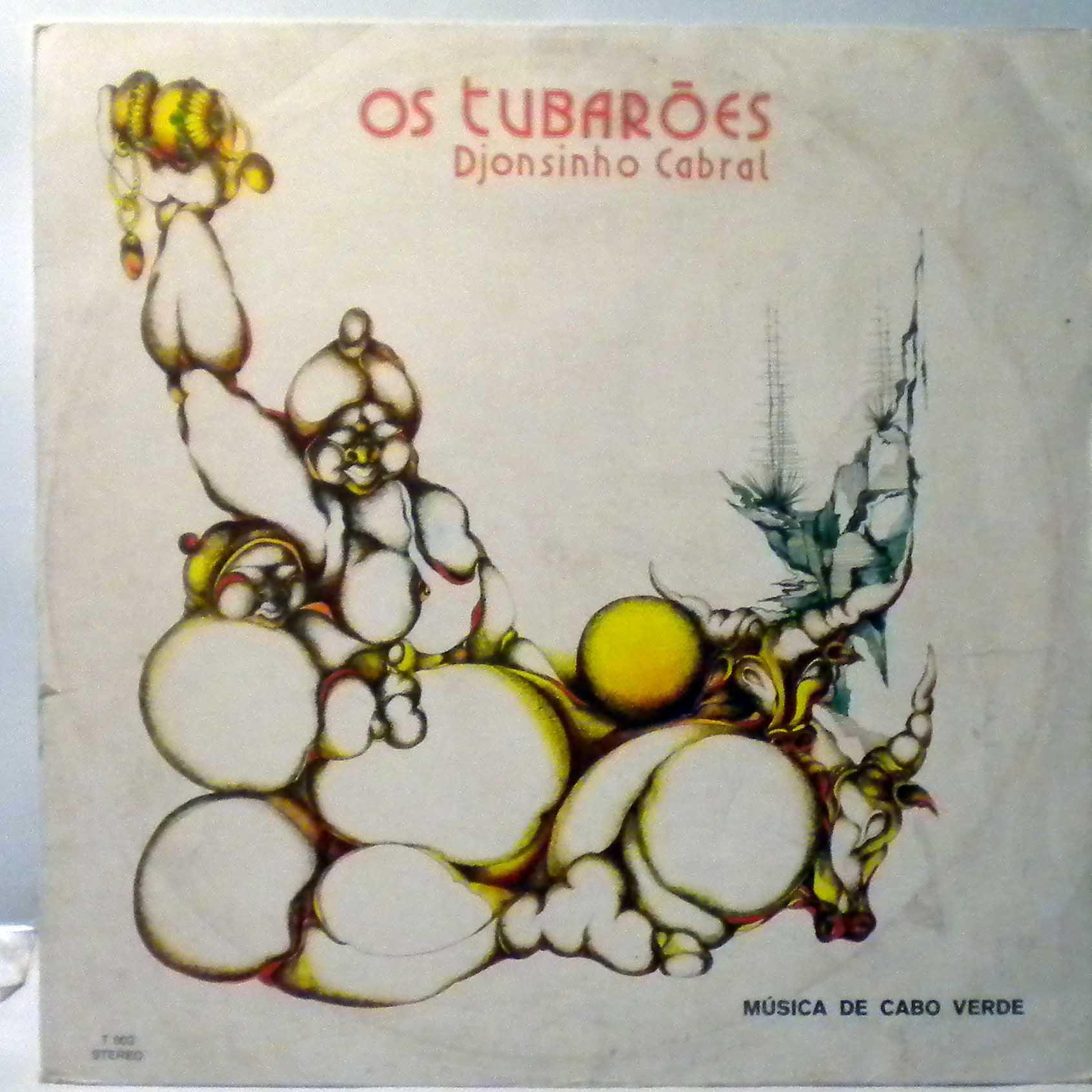 OS TUBAROES - Djonsinho Cabral - LP