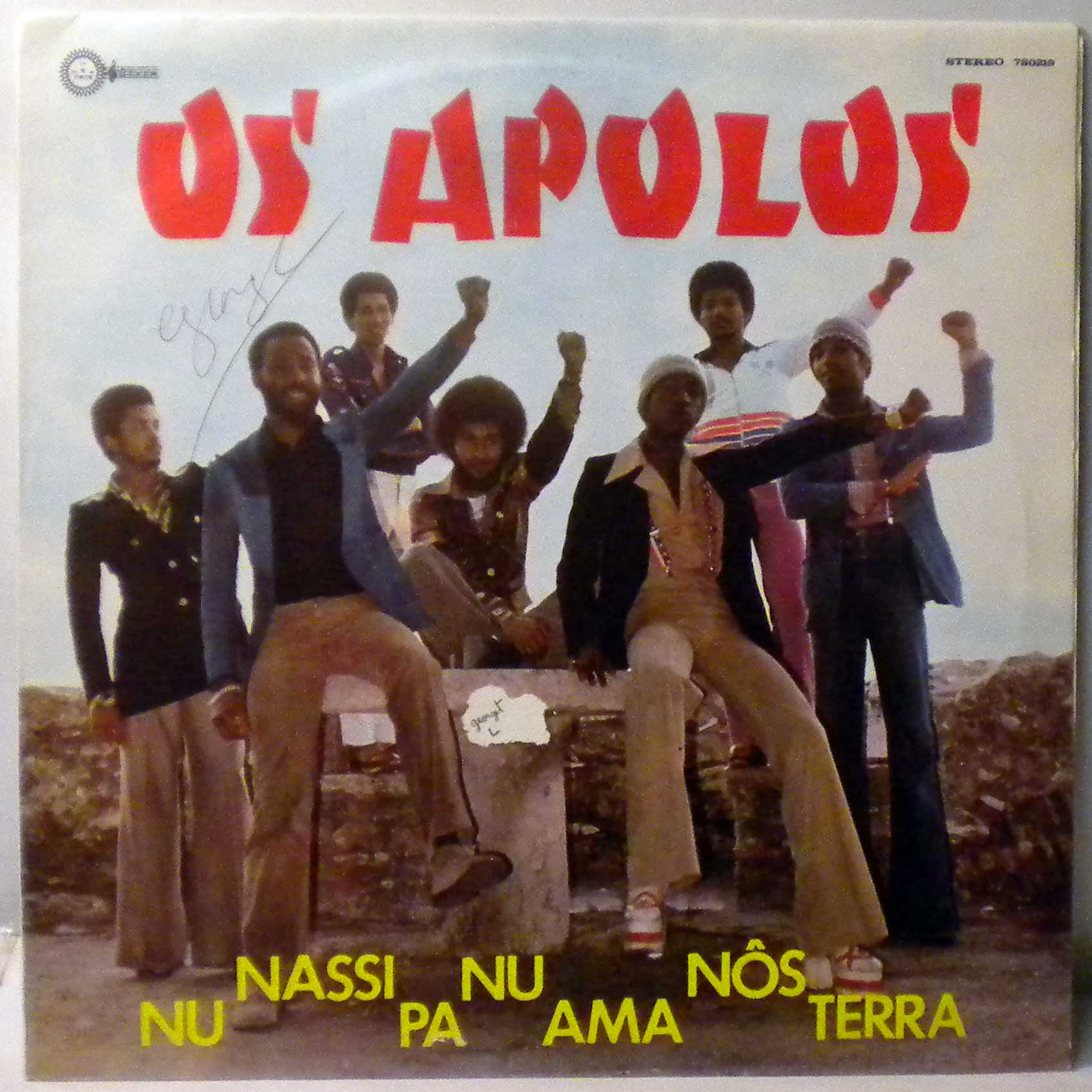 OS APOLOS - Nu nassi pa nu ama nos terra - LP