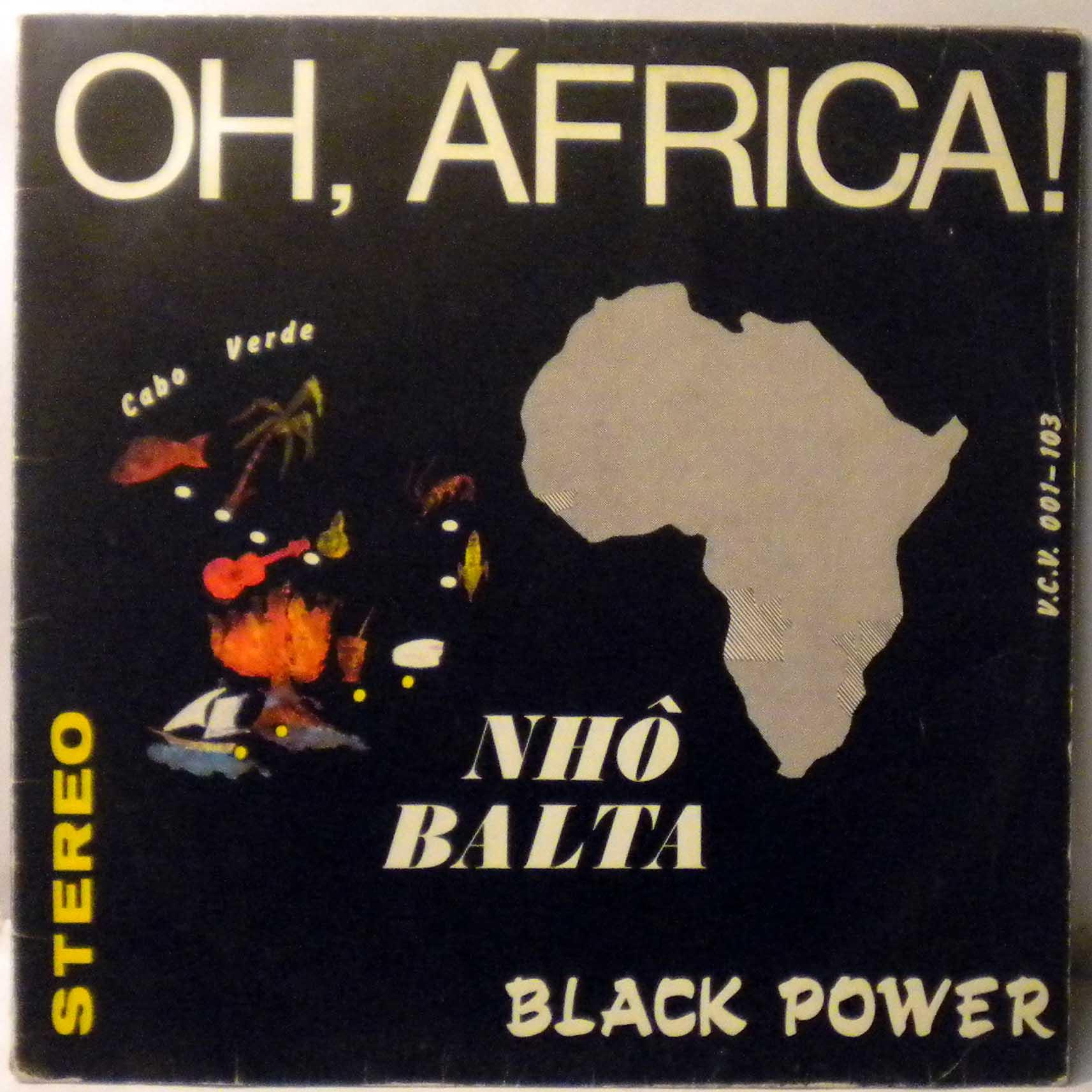 NHO BALTA - Oh, Africa - LP