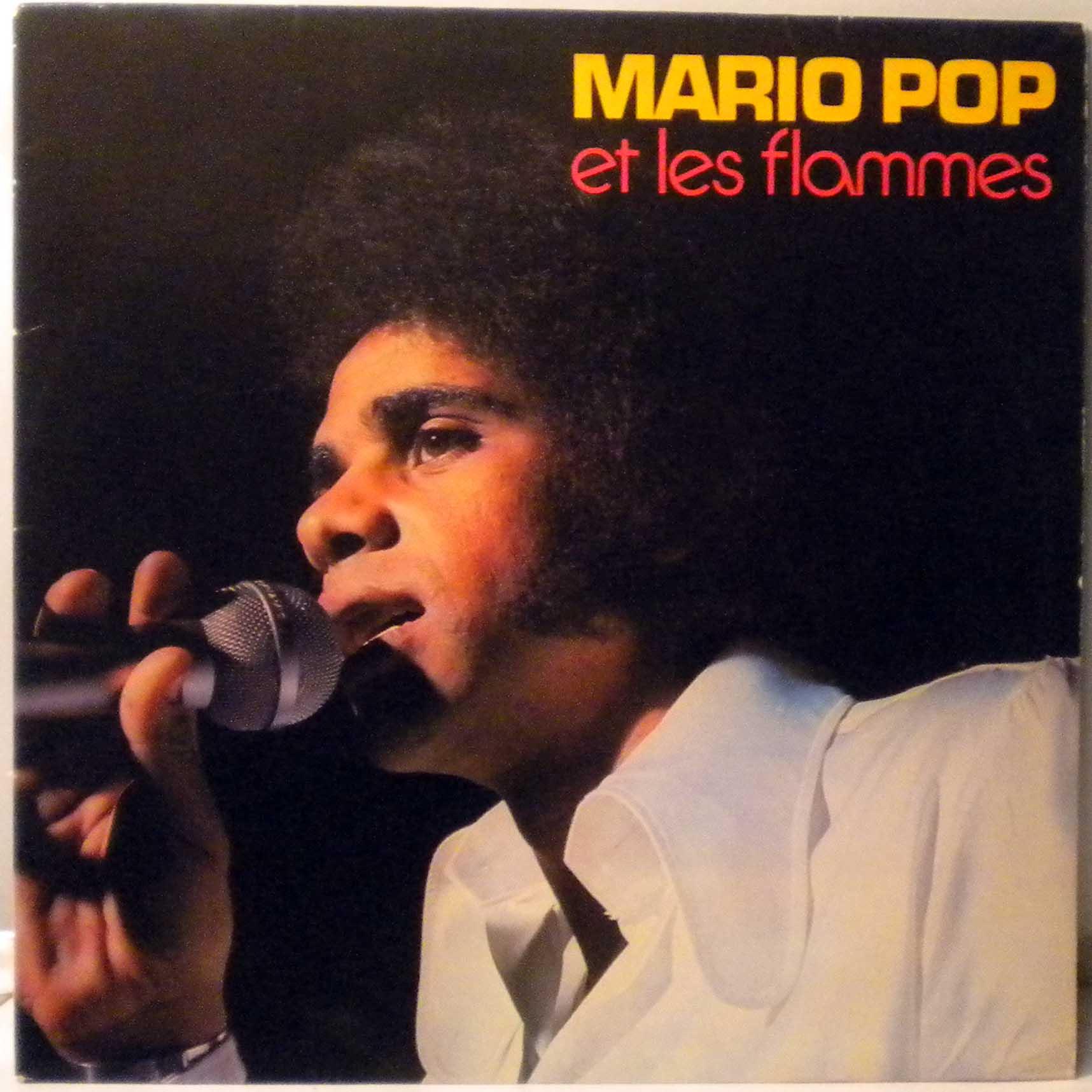 MARIO POP ET LES FLAMMES - Same - LP