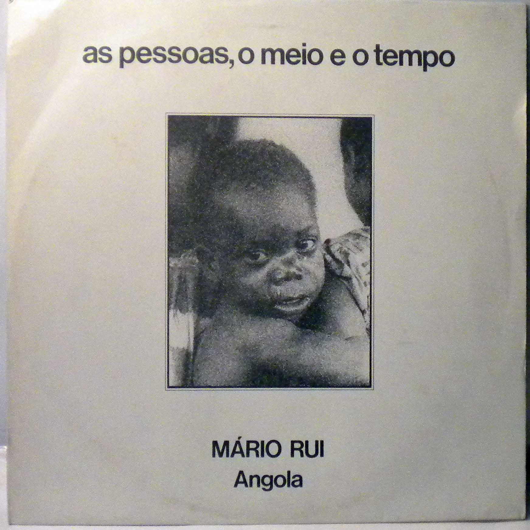 MARIO RUI SILVA - As pessoas, o meio e o tempo - LP