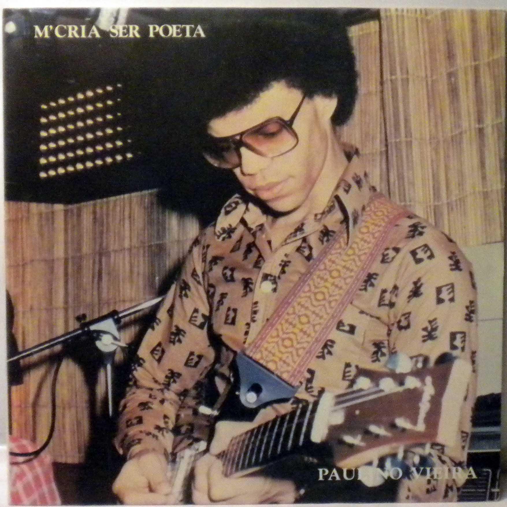 PAULINO VIEIRA - M'cria ser poeta - LP