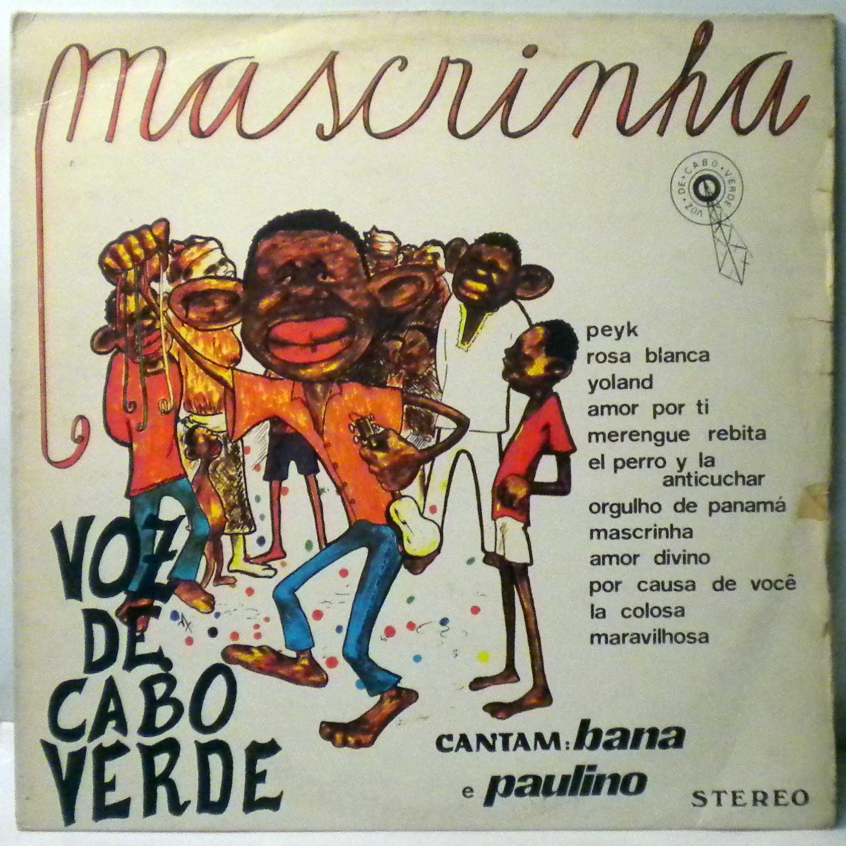 VOZ DE CABO VERDE - Mascrinha - LP