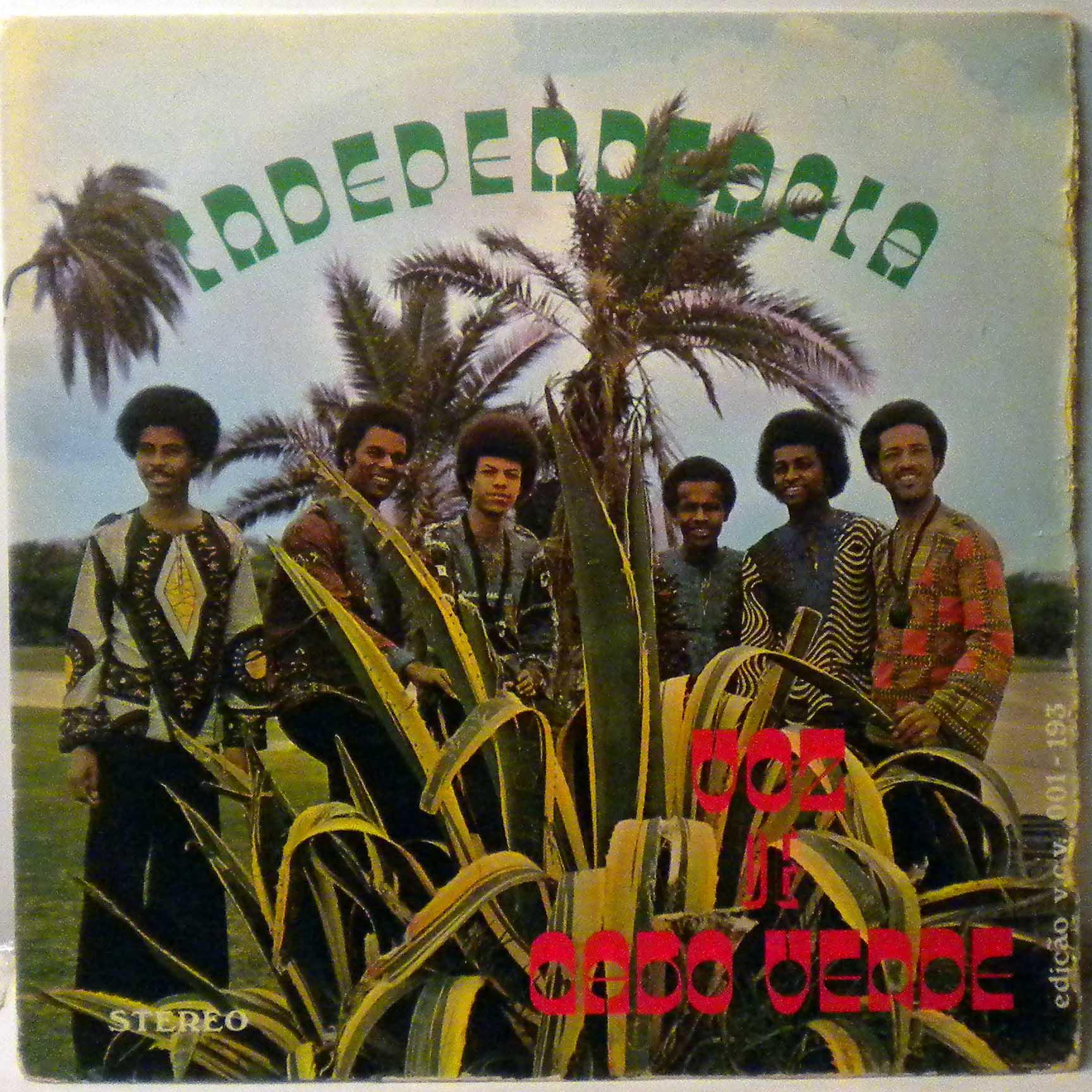 VOZ DE CABO VERDE - Independencia - LP