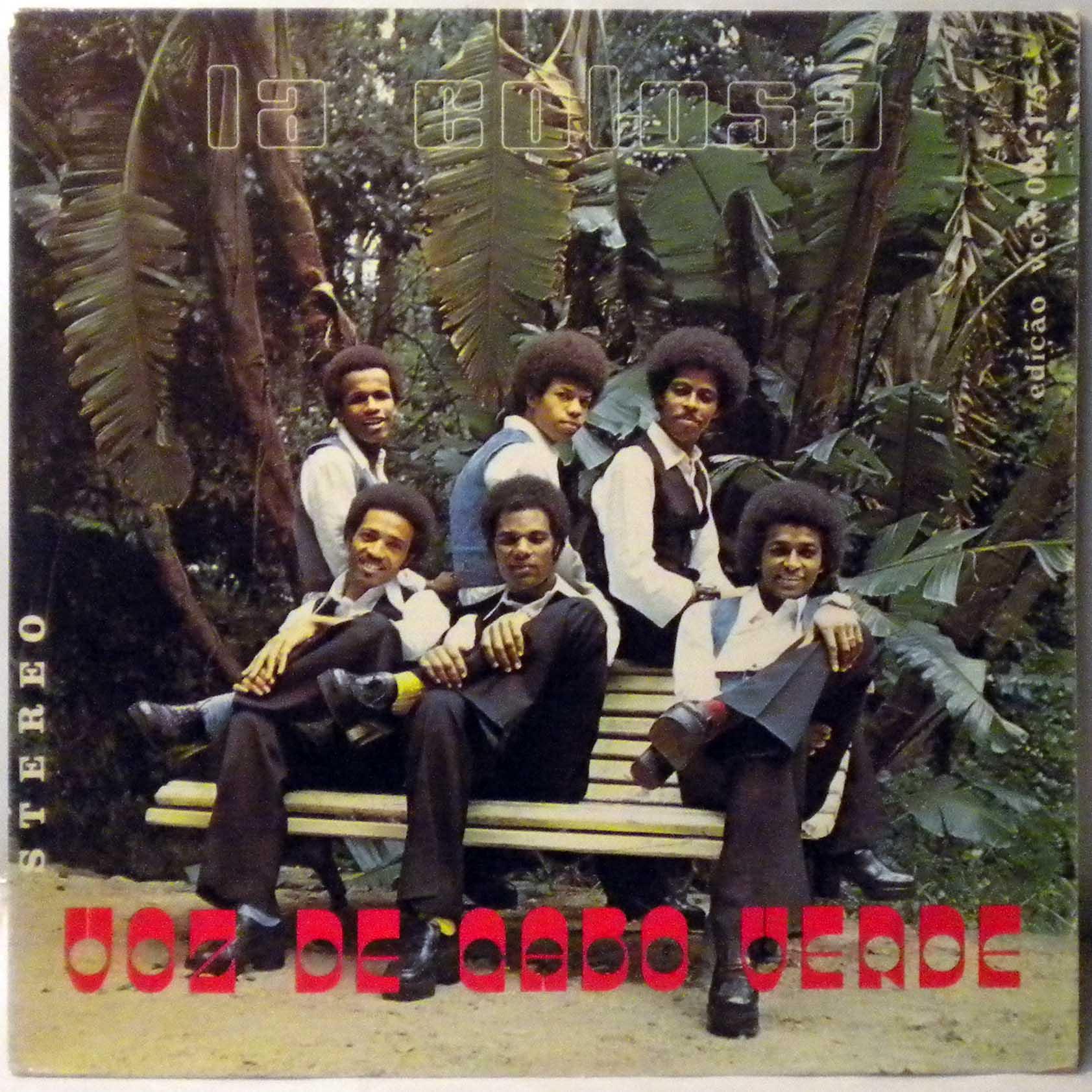 VOZ DE CABO VERDE - La colosa - LP