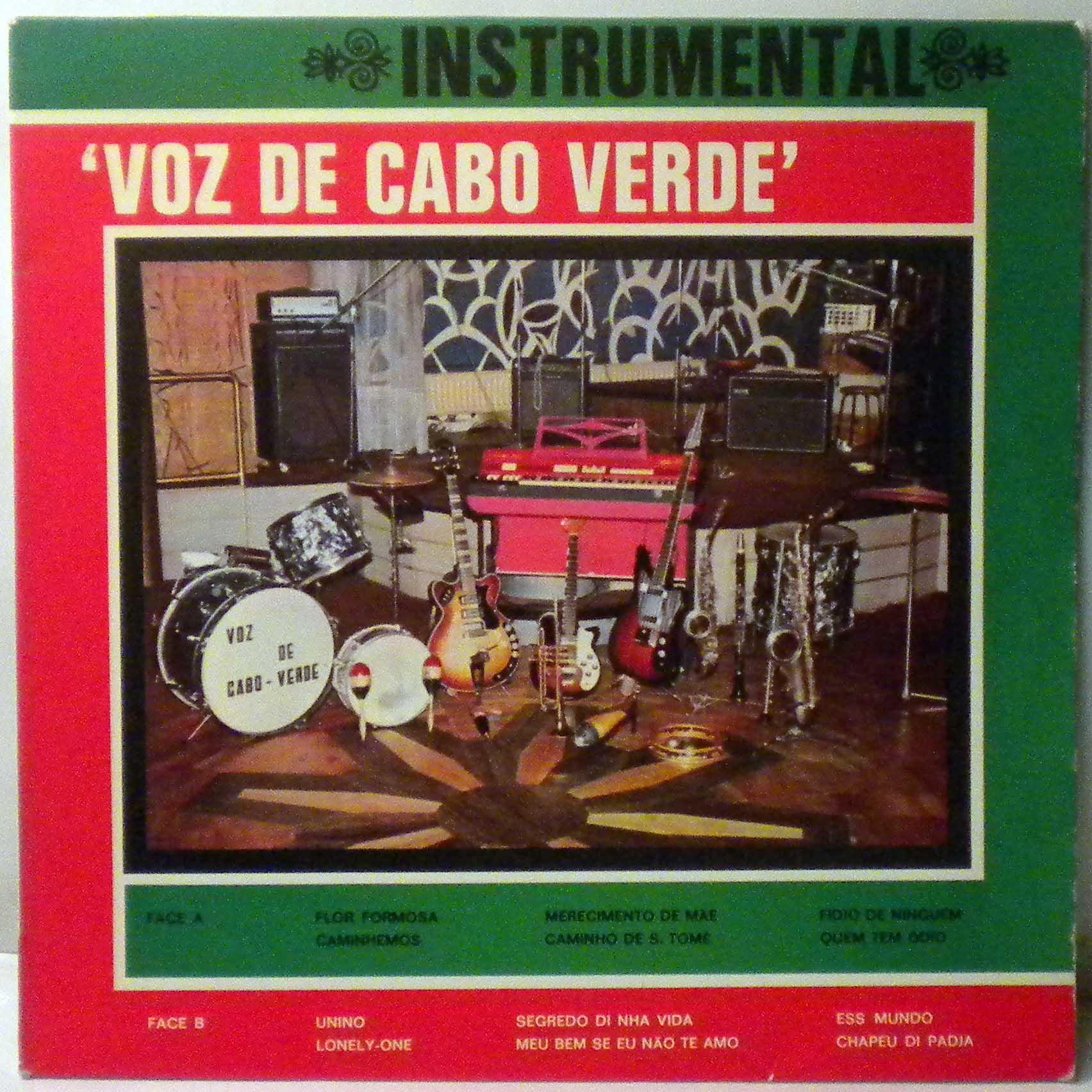VOZ DE CABO VERDE - Instrumental - LP
