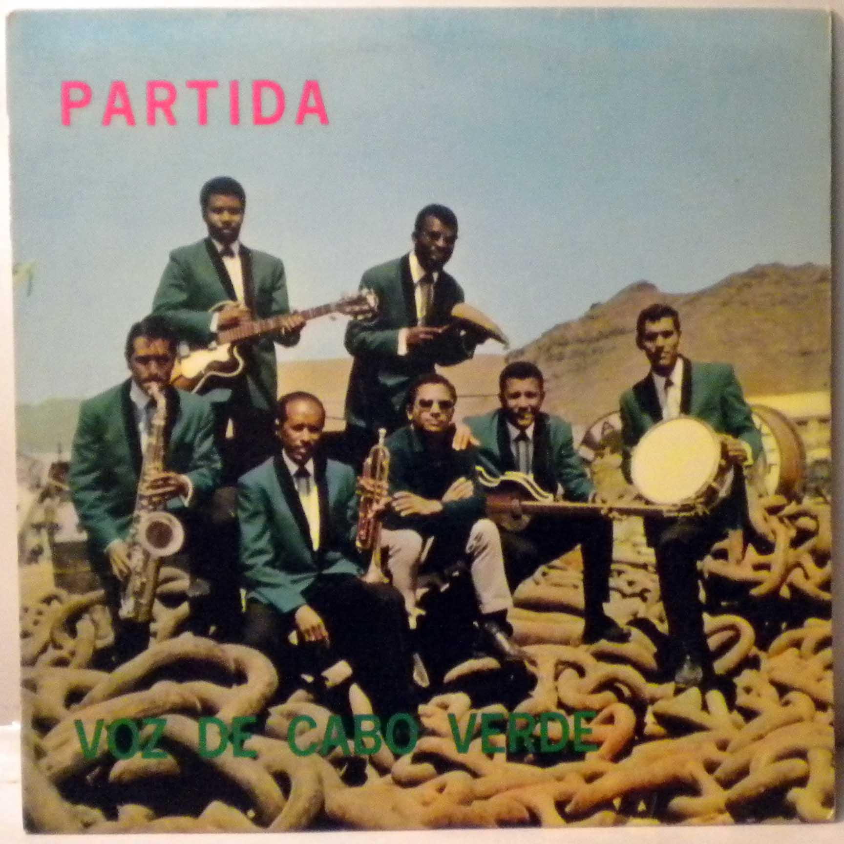 VOZ DE CABO VERDE - Partida - LP