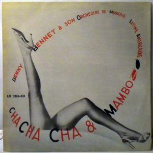 BENNY BENNET - Cha Cha Cha Y Mambo - LP