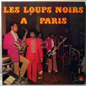 LES LOUPS NOIRS - A Paris - LP