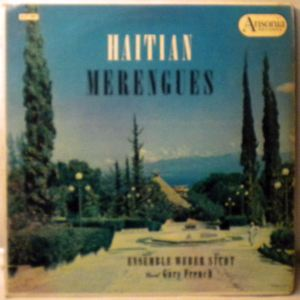 ENSEMBLE WEBERT SICOT - Haitian Merengues - LP