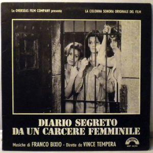 FRANCO BIXIO - Diario Segreto Da Un Carcere Feminile - 33T