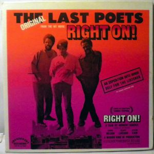 THE LAST POETS - Right On! - 33T