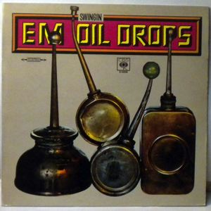 E.M. SWINGING OILDROPS - Like A Drop Of Oil - LP