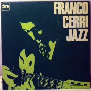 FRANCO CERRI QUARTET - Franco Cerri Jazz - LP