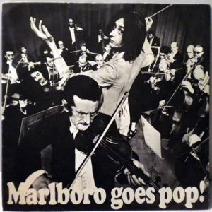 LORNA & THE SMOKERS - Marlboro Goes Pop! - 45T (SP 2 titres)