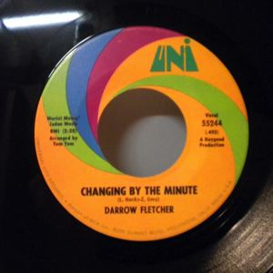 DARROW FLETCHER - Changing By The Minute - 7inch (SP)