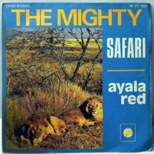THE MIGHTY - Ayala Red - 45T (SP 2 titres)
