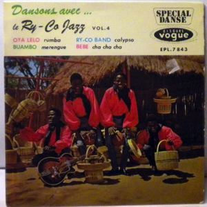 LE RY-CO JAZZ - Dansons Vol. 4 - 7inch (SP)