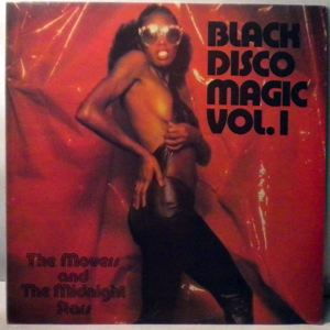 THE MOVERS AND THE MIDNIGHT STARS - Black Disco Magic Vol.1 - LP