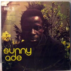 SUNNY ADE AND HIS GREEN SPOT BAND - Vol. 2 - LP