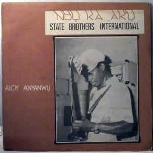 STATE BROTHERS INTERNATIONAL - Ndu ka aku - LP