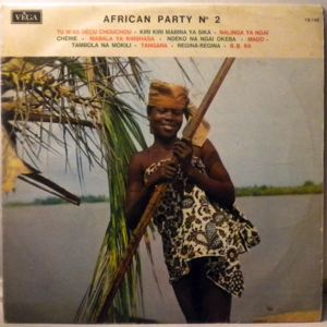 VARIOUS - African Party N¡2 - LP